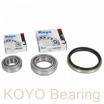 KOYO RNA4900.2RS needle roller bearings