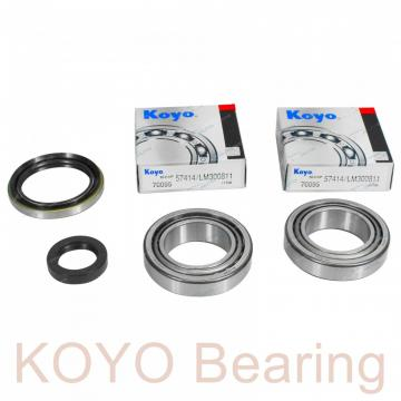 KOYO 46352A tapered roller bearings